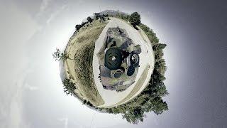 VR 360° Tank driving  / 360° Panzerfahrt Waffenplatz Thun thumbnail