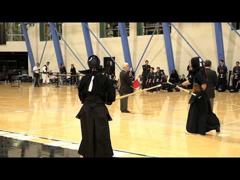 Kendo 2017 Nikkei Games 3 Dan Division: Round Robin 14