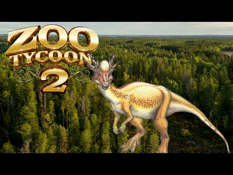 Zoo Tycoon 2: Stygimoloch Exhibit Speed Build