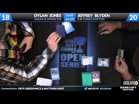 SCGNASH - Legacy - Round 6 - Dylan Jones vs Jeff Blyden