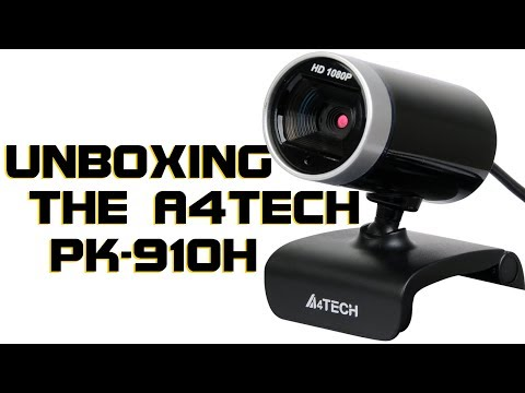 Budget HD Webcam: Unboxing the A4Tech PK-910H 1080P Full-HD WebCam