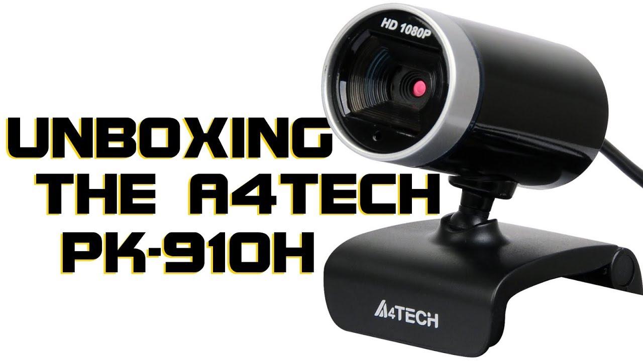 04bfae51f76 Budget HD Webcam: Unboxing the A4Tech PK-910H 1080P Full-HD WebCam ...
