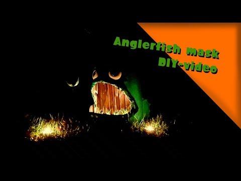 Splatoon 2 - Anglerfish mask - DIY - halloween costume/cosplay