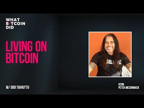Living on Bitcoin with Didi Taihuttu