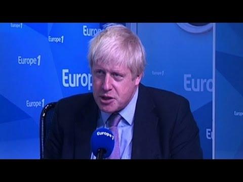 """Johnson : """"Winston Churchill est un modèle pour tout le monde"""""""