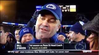 Bill O'Brien Calls His Team a