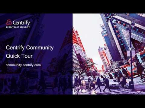 Forums - Centrify Community