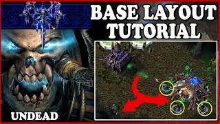 Grubby | Warcraft 3 TFT | 1.30 | UNDEAD Base Layout TUTORIAL