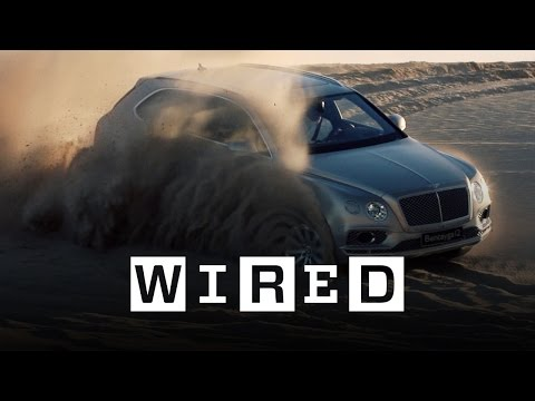 Watch WIRED put the Bentley Bentayga 'luxury SUV' to the test