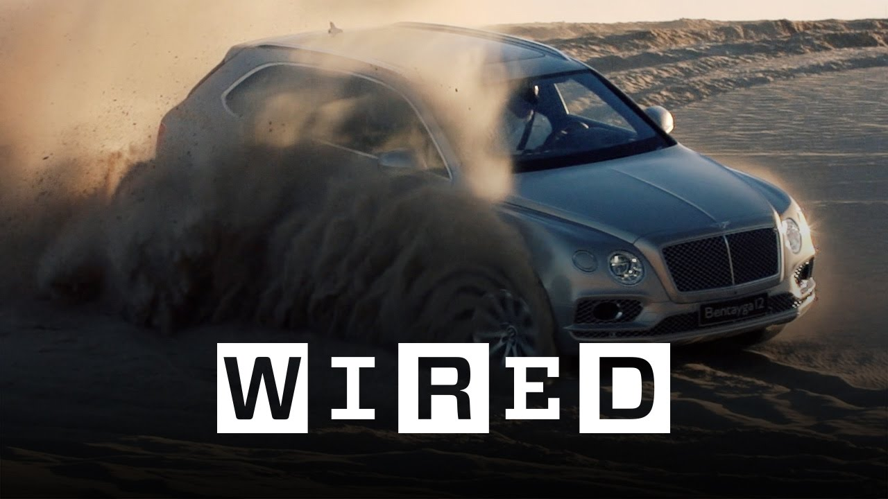Bentley Bentayga the 'First Luxury SUV' Drive Test | WIRED