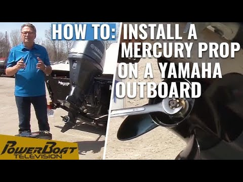 How to install a Mercury propeller on a Yamaha outboard | My Boat DIY