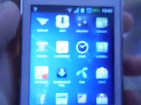 Samsung Galaxy Y creed rom Iphone Theme