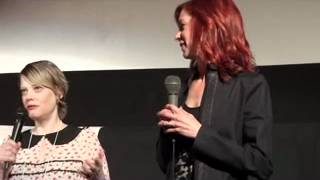 Carrie Preston and Kellie Overbey That's What She Said Q&A