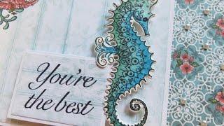 Heartfelt Creations Under the Sea Close Up