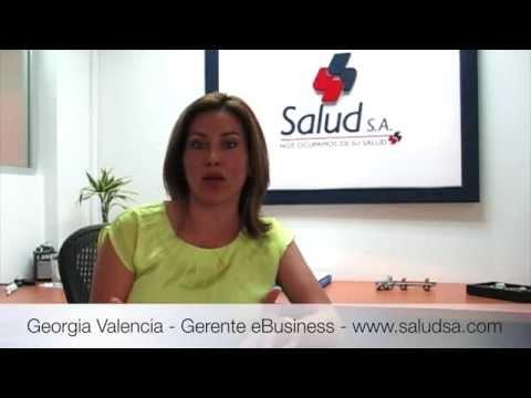 Resultados eCommerce en Saludsa | Georgia Valencia