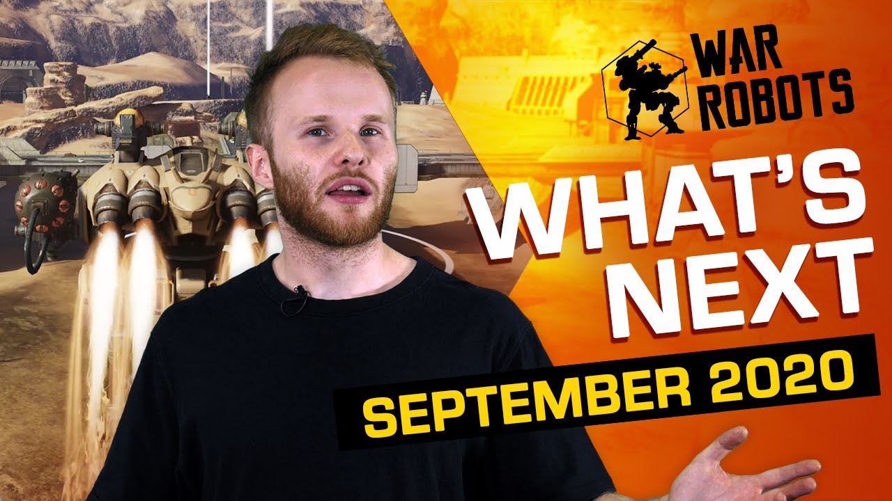 REMASTERED OPEN BETA | What's Next in War Robots (September 2020)