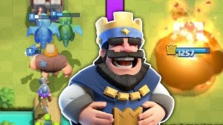 3 CROWNING LEVEL 2 NOOBS IN ARENA 1 (Clash Royale Trolling)