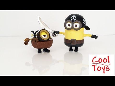 Build A Minion Pirate or Cro Minion - CoolToys