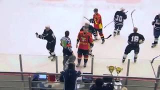 Referee beats up player