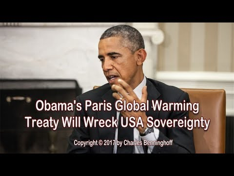 Paris Climate Liar Treaty Will Destroy American Sovereignty
