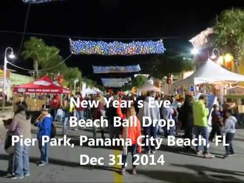 New Years Eve 2014 Beach Ball Drop Panama City Beach, FL