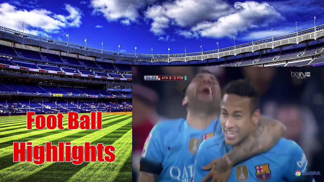 Athletic Bilbao vs Barcelona 1 - 2 2016 ~All Goals & Full ...