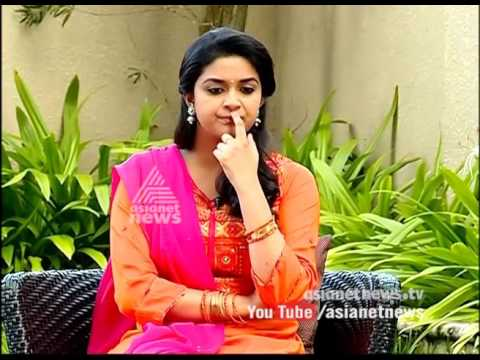 Keerthy Suresh(actress)| Interview with Keerthy Suresh
