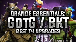 Orange Essentials: Ep. 02 - The Guardians of the Galaxy / BKT - MARVEL Strike Force