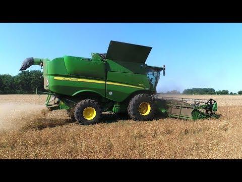Moisson 2017 / Harvest 2017 - John Deere S670i [4K/Phantom]