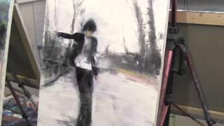 Современная картина, живопись для начинающих, Сахаров Игорь