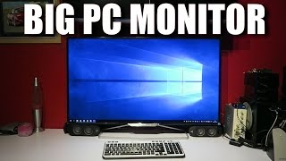 The Biggest PC Monitor - 40 Inch 4k 60Hz