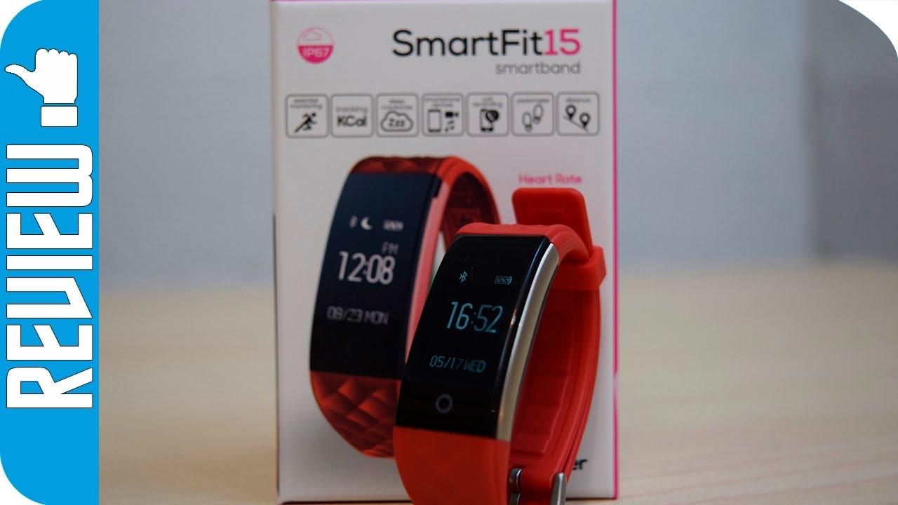 9a1bdbc73 SmartFit 15 una smartband de woxter completa y asequible - YouTube