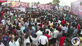 yennai arindhaal fdfs show celebration by ajith fans in rammuthuram cinemas