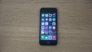 iPhone 5S iOS 8.0.2 - Review (4K)