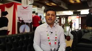 Hosted Buyer Azahar Hussain from Fingerprint Events - Magical Kenya Travel Expo 2018