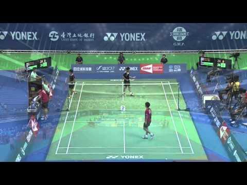 2014 YONEX CHINESE TAIPEI OPEN- SF- MD - Match 3