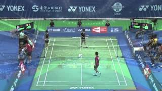 2014 YONEX CHINESE TAIPEI OPEN- SF- MD - Match 3