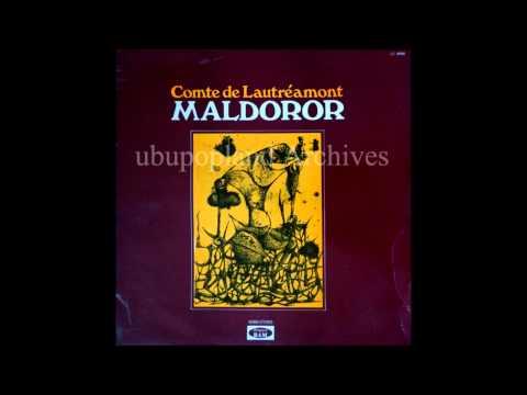 Comte de Lautréamont - Les chants de Maldoror -  Isidore Ducasse
