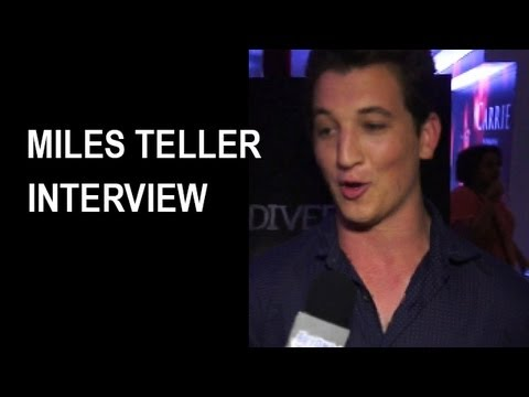 Miles Teller Interview 2013 : Divergent, The Spectacular Now - Beyond The Trailer