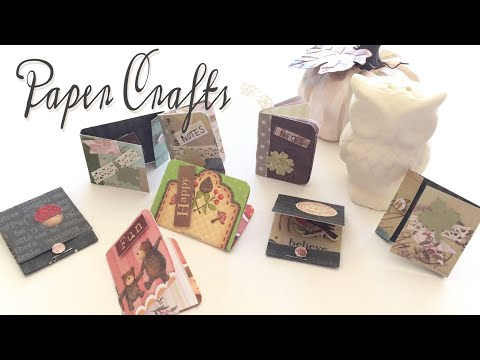 How to make paper embellishments|How to make matchbook embellishments|DIY Paper Craft