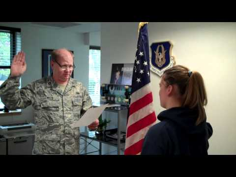 Air Force Reserve Oath of Enlistment
