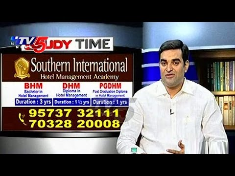 Eligibility Criteria For Hotel Management | Southern International Academy | Study Time | TV5 News