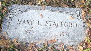 Cemetery Walk 1: Diamond Springs Odd Fellows Cemetery, El Dorado County California