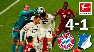 Neuer with incredible saves in dominant FCB win | Bayern - Hoffenheim | 4-1 | Highlights | MD 19