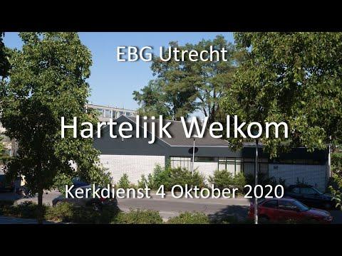 EBG- Utrecht Dienst 4 oktober 2020