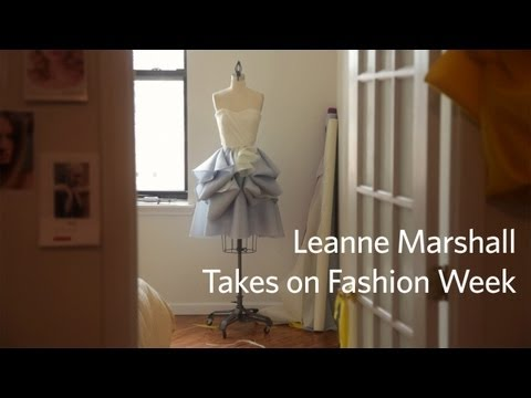 Leanne Marshall Takes on Fashion Week