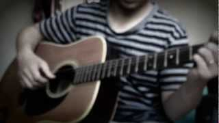 Over and over + Danube waves on guitar