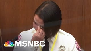 Witness, Off-Duty Firefighter Says She Would Have Given Floyd Medical Attention | MSNBC
