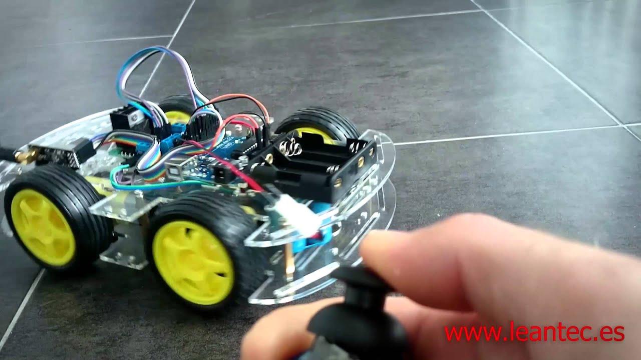 Robot wd ruedas con arduino controlado por
