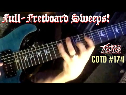 Full-Fretboard Sweeps! | Challenge of the Day #174